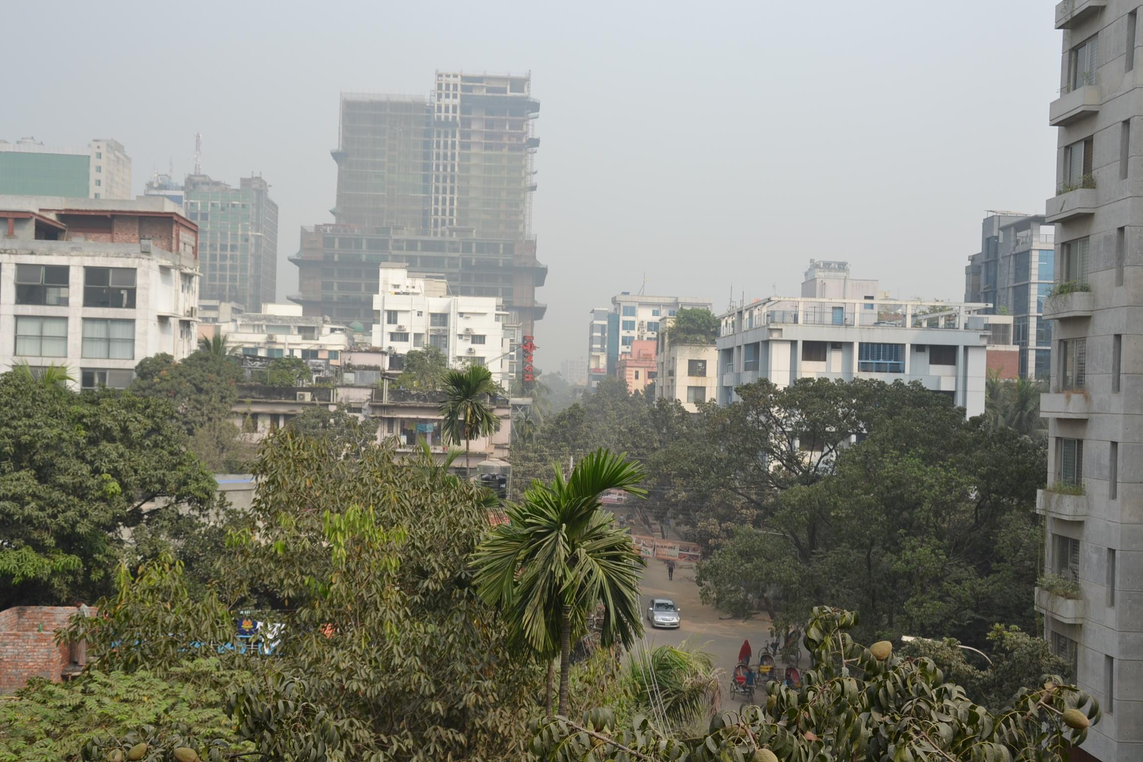 バングラデシュでPM2.5??