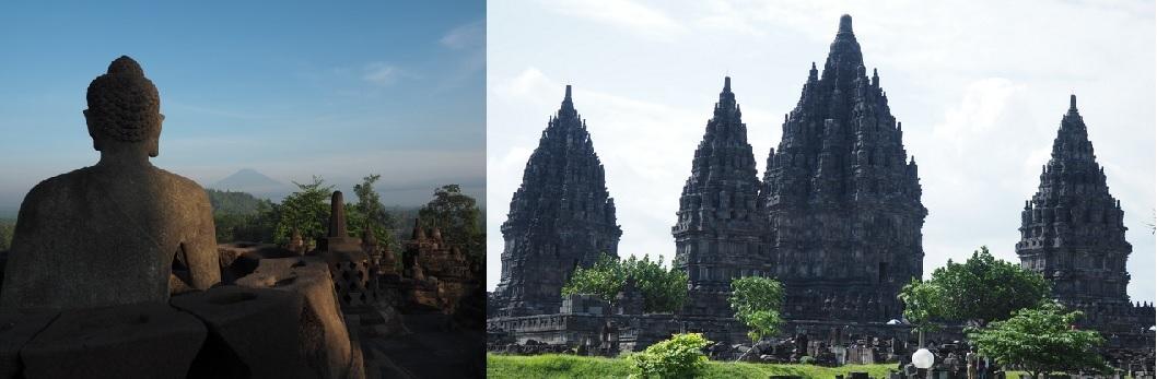 【インドネシア】ボロブドゥール遺跡群とプランバナン寺院遺跡群
